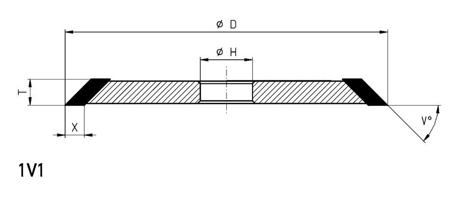 1V1-grinding-wheel