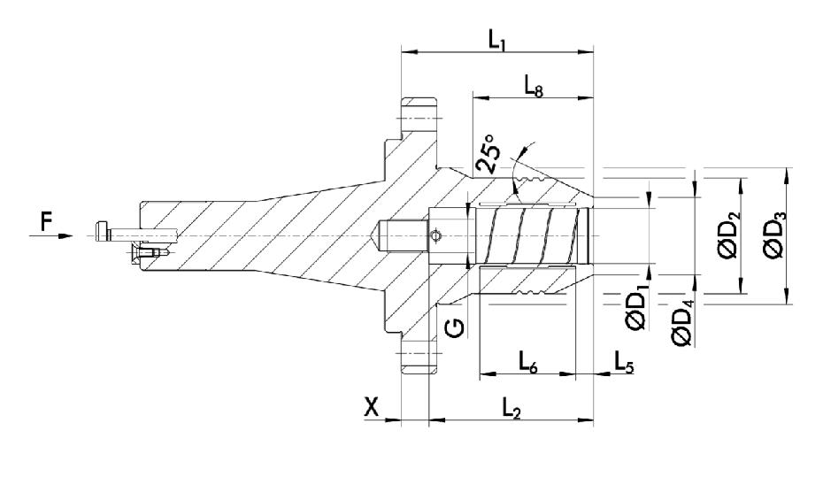 Schunk_TENDO_hydraulic_chuck_WALTER_dimensions_rfq